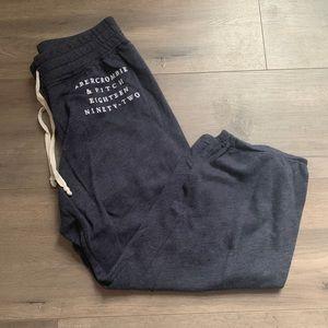 abercrombie&fitch 3/4 sweatpants